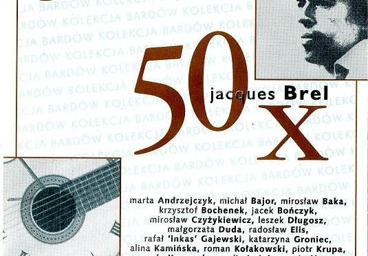 50 x Jacques Brel